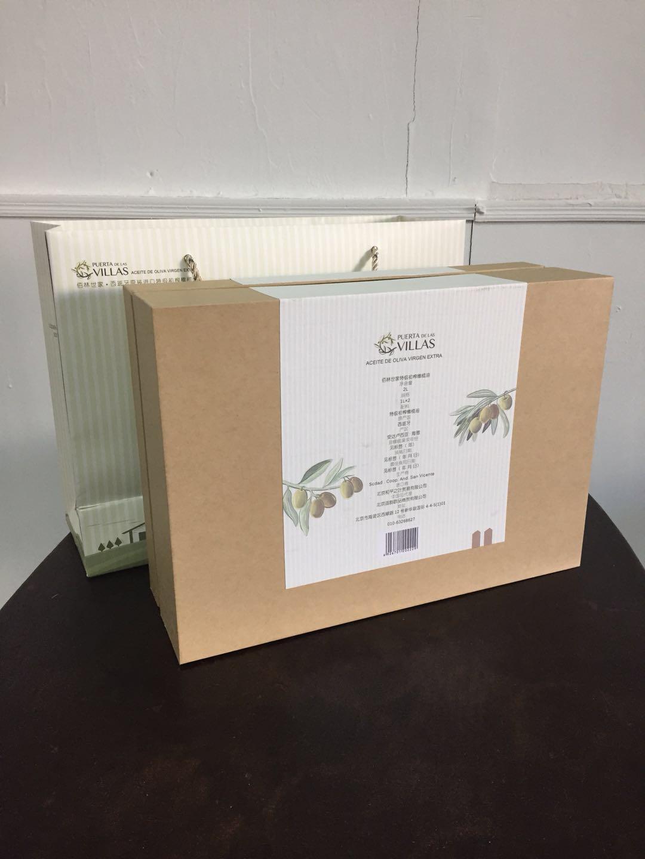 西班牙原裝進口佰林世家特級初搾橄欖油1L禮盒 4