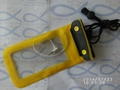 Headphone jack audio line waterproof bag