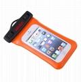 Arm with phone waterproof bag