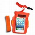 Velcro phone waterproof bag