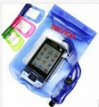 Arm band of neoprene mobile phone pouch for iPhone
