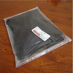 Transparent zipper garme