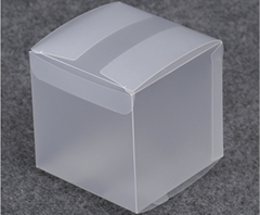 Frosted glass box