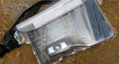 Receive a waterproof bag