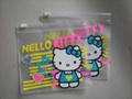 Color printing zipper bag