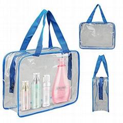 拉链防水沙滩手提袋