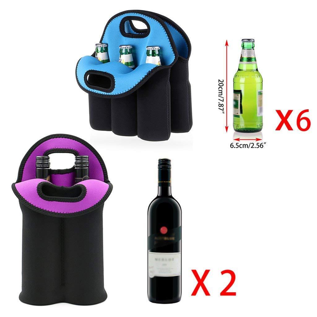 雙支紅酒瓶套 6