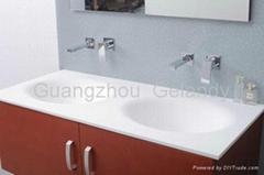 Modern style Acrylic solid surface wash basins