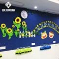 厂家批发唯基彩色软木板 幼儿园