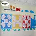 廠家批發唯基彩色軟木板 幼儿園蒙布軟木板布面留言板 顏色多品種全 5