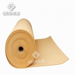 工廠直銷唯基軟木卷材 幼儿園進口高密度彩色軟木卷材 10mm軟木卷材