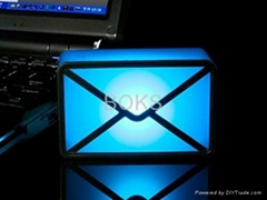 USB 郵件通知器