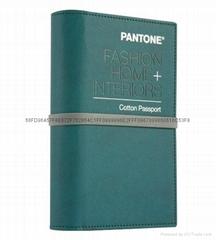 PANTONE潘通国际标准服装纺织棉布版通行证TCX色卡FHIC200正品