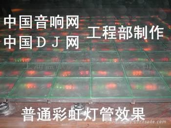 供應鋼化玻璃彈簧舞池 2