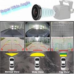 Big View Angle 180 Degree Car Backup Rearview Camera
