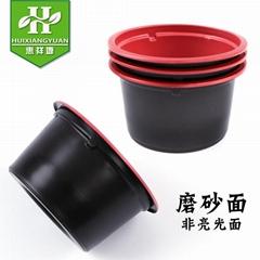 一次性汤碗带盖加厚外卖防漏小号圆形餐盒塑料打包快餐280ml酱料