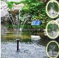 Solar garden water pump kit 2