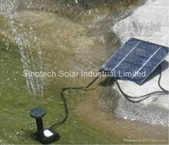 Mini solar water pump kit