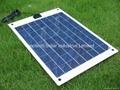 20W Semi Flexible solar panel