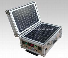40W Portable solar power kit