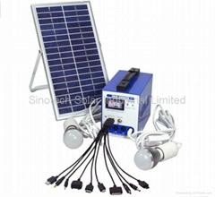 6W Solar lighting system