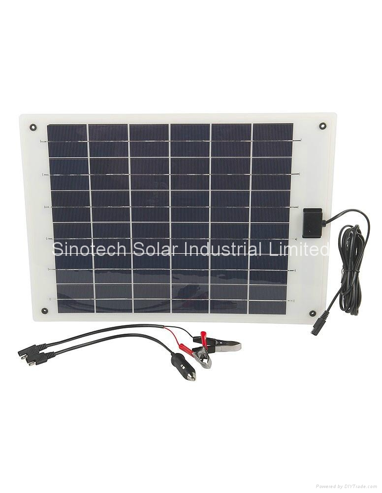 10W Flexi PV solar charger kit 1