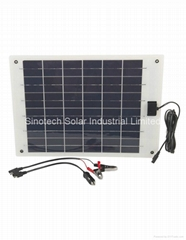 10W Flexi PV solar charger kit