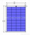 80W Semi Flexible solar panel 1