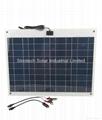 40W Flexi PV Marine solar kit