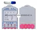 PVC夾子材料卡片 2