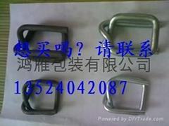 鋼絲金屬絲環形回型重型目字打包扣