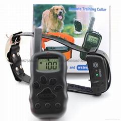 寵物無線遙控多功能止吠器訓狗器