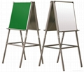 TWO-SURFACE EASEL (Aluminium)