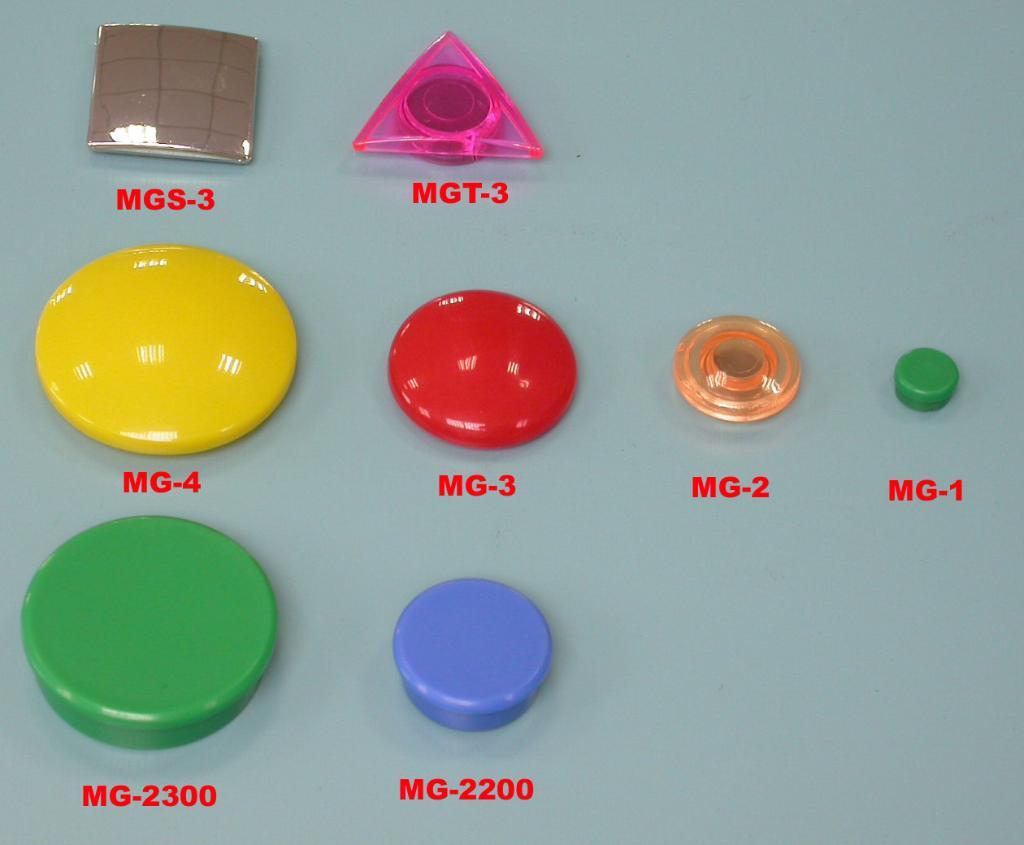 彩色磁铁及强力磁铁 1