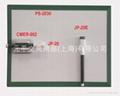 Magnetic drywipe MEMO board