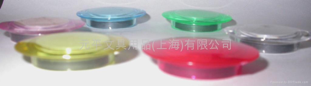 20mm 透明磁鐵果凍色 2