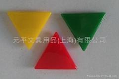 三角形磁鐵多色