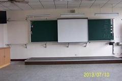 滑轨式电子白板