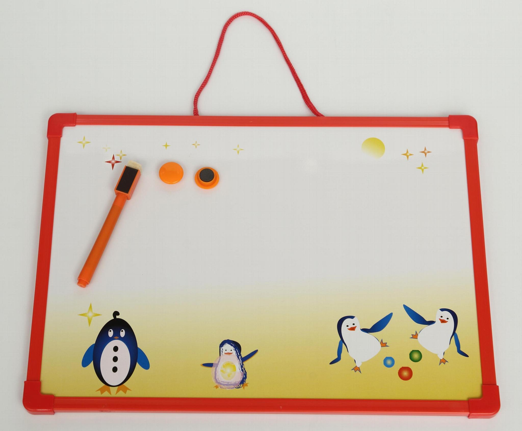 儿童用可愛小白板寫字板 1