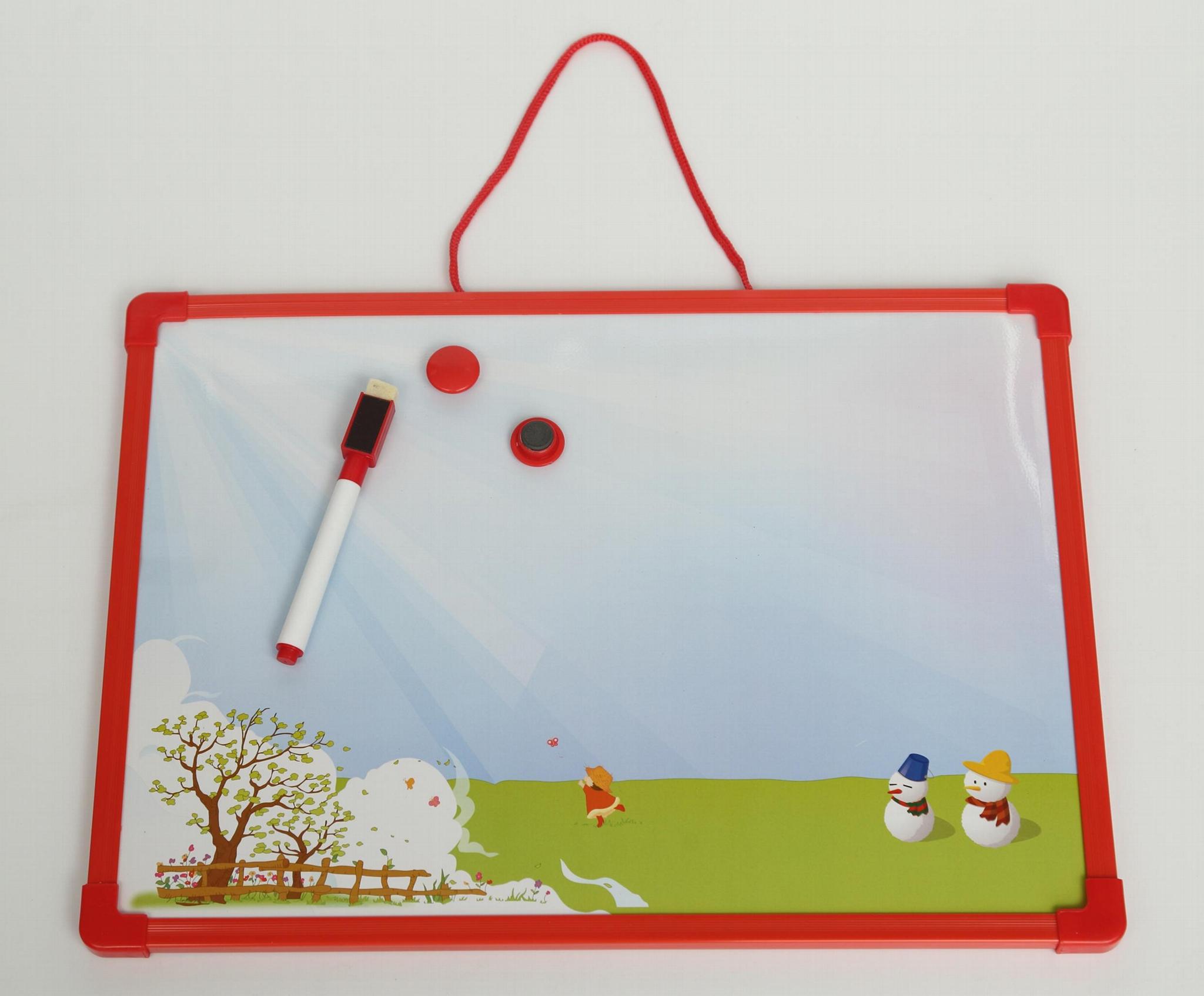 儿童用可愛小白板寫字板 4