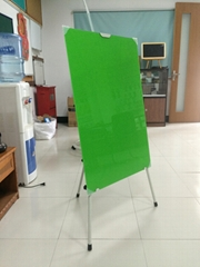 Glass whiteboard and stent