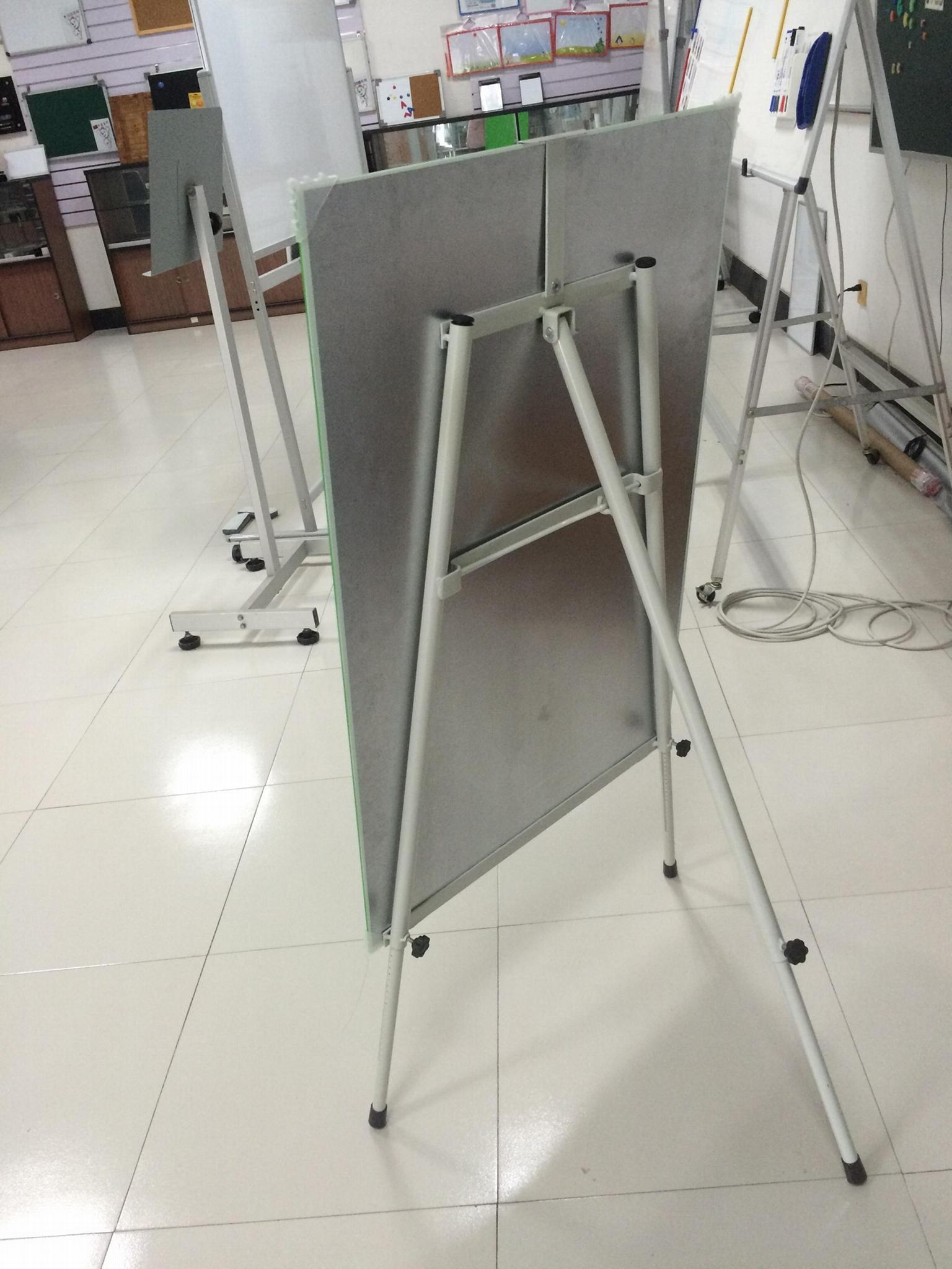 玻璃白板+支架辦公用品 2