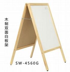 SW-4560G原木框寫字板原木框廣告板