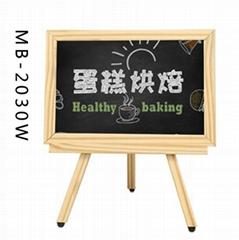MB-2030W 广告板三角支架黑板