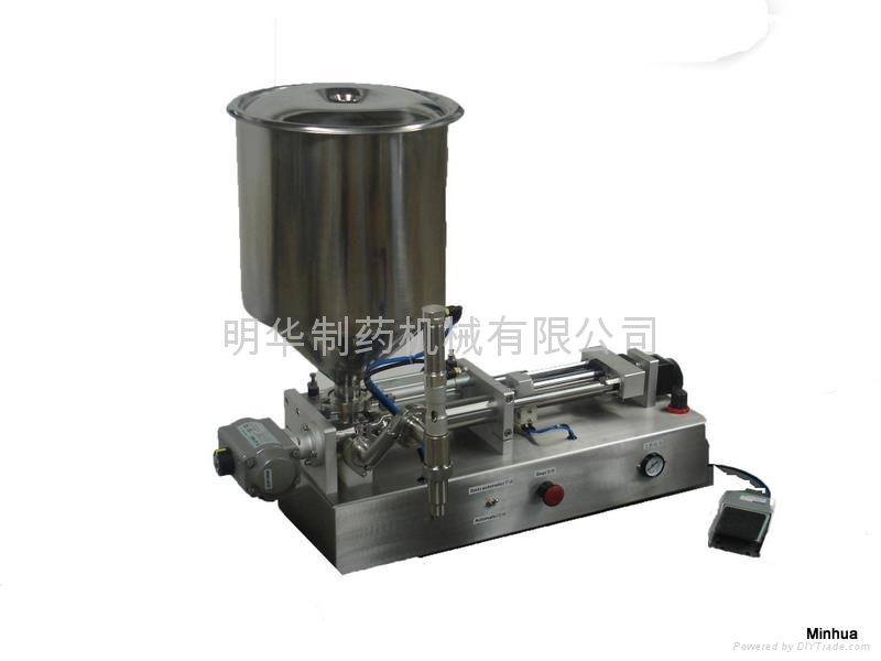 sauce special piston filling machine hsfs 60 flight china manufacturer packaging related. Black Bedroom Furniture Sets. Home Design Ideas