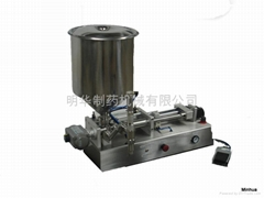 Sauce special piston filling machine HSFS-60