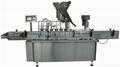 Linear liquid filling& sealing machine