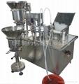 Liquid filling & sealing machine KGF-40