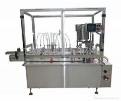 Linear liquid filling& c
