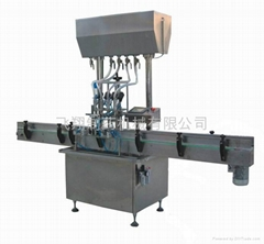 Flow-type liquid filling machine KGF-X